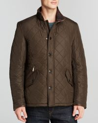 Barbour Powell Polarquilted Jacket - Lyst