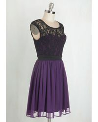 Mystic - Shortcake Story Dress In Purple - Lyst