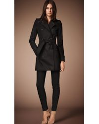 Burberry The Kensington - Mid-length Heritage Trench Coat - Lyst