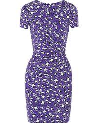 Diane Von Furstenberg Zoe Wrap-effect Stretch-jersey Dress - Lyst