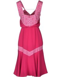 Bibhu Mohapatra | Knee-Length Dress | Lyst