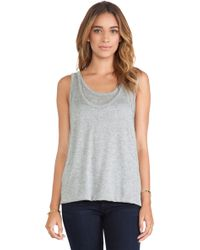 Enza Costa Doubled Tank - Lyst