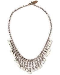Forte Forte Crystal Necklace - Lyst