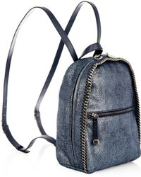 Stella McCartney Falabella Faux-suede Backpack - Lyst