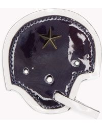 Tommy Hilfiger - Leather Helmet Badge - Lyst