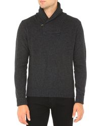 AG Adriano Goldschmied The Shawl Collar Sweater - Lyst