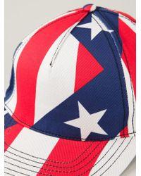 Love Moschino - Mix Pattern Baseball Cap - Lyst