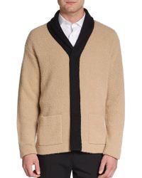 Burberry Prorsum Silk/Cashmere Knit Jacket - Lyst