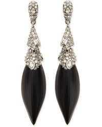 Alexis Bittar Articulating Lucite Post Earrings - Lyst