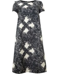 Max Mara Studio Corinto Printed Shift Dress - Lyst