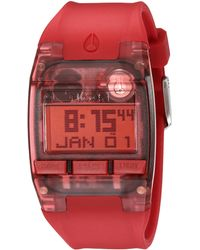 Nixon The Comp red - Lyst