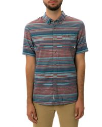 Vans The Rusden Ikat Ss Buttondown Shirt - Lyst