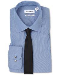 Calvin Klein Regular Fit Stripe - Lyst