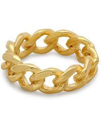 George & Laurel - Sierra Chain Ring - Lyst