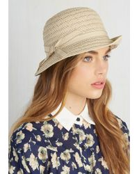 Jeanne Simmons Accessories - Cloche The Gap Hat - Lyst