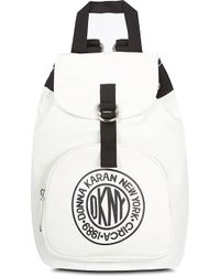DKNY Active Backpack Whiteblue - Lyst