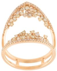 Kristin Hanson - Diamond Cluster Open Ring - Lyst