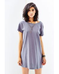 Truly Madly Deeply Openback Tshirt Dress - Lyst