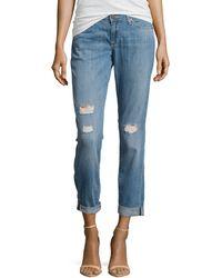 Cj By Cookie Johnson Glory Slim Boyfriend Jeans - Lyst