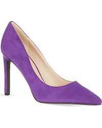Nine West Tatiana Suede Court Shoes - Lyst