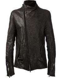 Incarnation Distressed Biker Jacket - Lyst