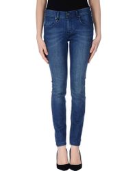 Burberry Brit Denim Trousers - Lyst