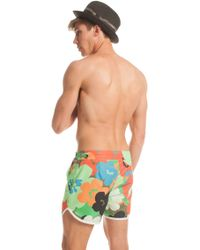 Trina Turk - Pop Art Floral Surfside Board Short - Lyst