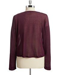 William Rast - Hi-lo Knit Sweater - Lyst