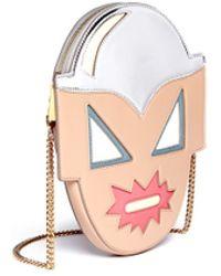 Stella McCartney 'Superstellaheroes' Mask Crossbody Bag - Lyst