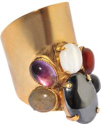 Ela Stone - Maiko Ring With Multicolored Gemstones - Lyst