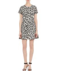 Sea Leopardpattern Flounce Dress - Lyst