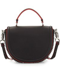 Christian Louboutin Panettone Spiked Messenger Bag - Lyst