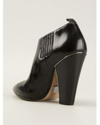 Michael Kors Chunky Heel Ankle Boots - Lyst