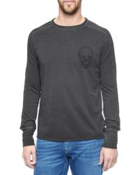 True Religion European Skull Mens T-Shirt - Lyst