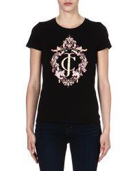Juicy Couture Ornate Print Tshirt Black - Lyst
