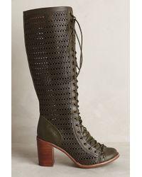 Jeffrey Campbell Green Rilla Boots - Lyst