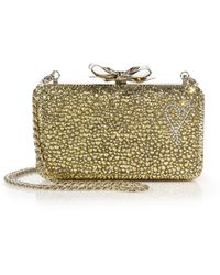 Christian Louboutin   Fiocco Embellished Clutch   Lyst