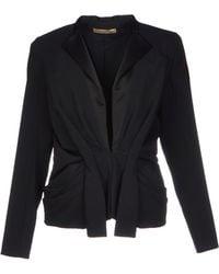 Balenciaga Satin Jacket with Tie Waist - Lyst
