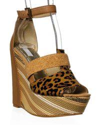 Rachel Roy   Shainah Platform Wedge Sandal   Lyst