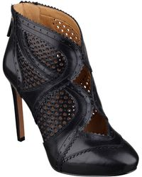 Nine West Niscayuna Leather Booties - Lyst