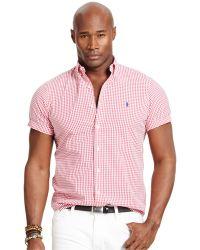 Polo Ralph Lauren Big & Tall Check Seersucker Shirt - Lyst
