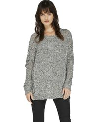 Feel The Piece By Terre Jacobs Lowell Sweater black - Lyst