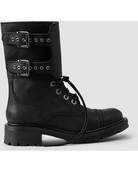 AllSaints Delphi Boot black - Lyst