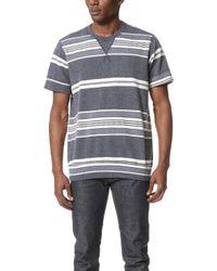 Sol Angeles - Turkish Stripe Short Sleeve Crew Tee - Lyst