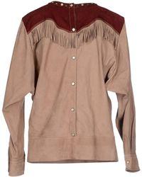 Isabel Marant Shirt beige - Lyst