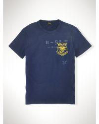 Polo Ralph Lauren Custom-Fit Naval Air T-Shirt - Lyst