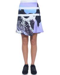 Peter Pilotto Printed-Skirt - Lyst