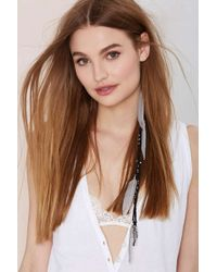 Nasty Gal Light As A Feather Hair Clip - Lyst