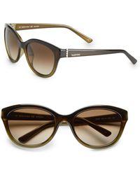 Valentino 59mm Cats Eye Sunglasses - Lyst