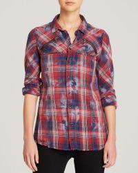 Hudson Shirt - Ryan Plaid - Lyst